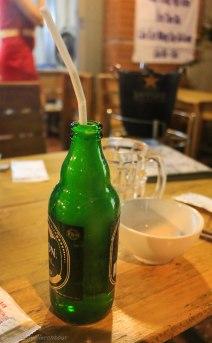 Frozen beer on purpose