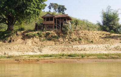 Houses we passed on the river