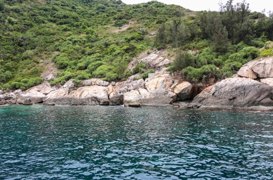 The surrounding of the second dive site