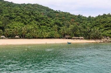 Cham Island beach