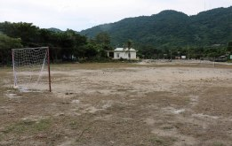 The local football pitch