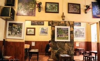 Lovely set up inside the cafe