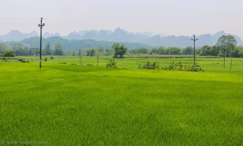 Scenery outside Cao Bang