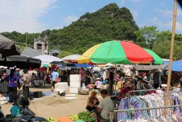 Market in Tra Linh