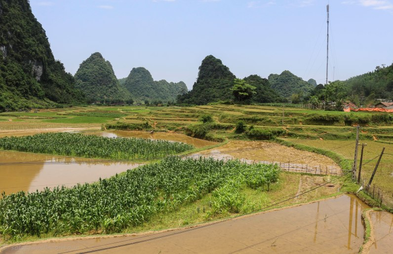 The Cao Bang porvince offers a variety of beautiful scenery