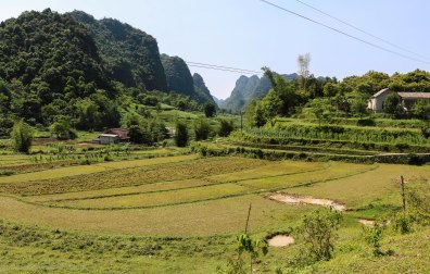 The scenery in the Cao bang province is not getting boring anywhere