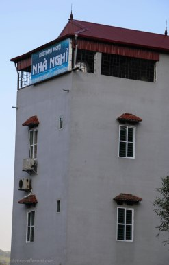 Kieu Thanh Nhuyet Guesthouse - the sign visible from the road