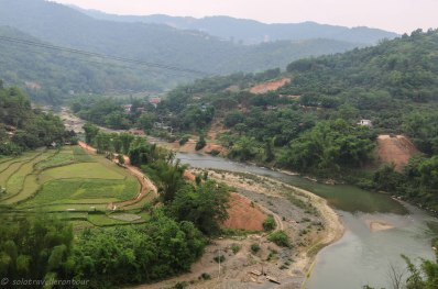 View outside of Cao Bang