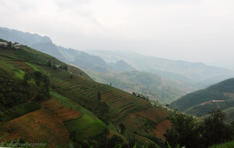 View of the journey between Cao Bang and ha Giang province