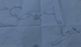 The nad drawn map
