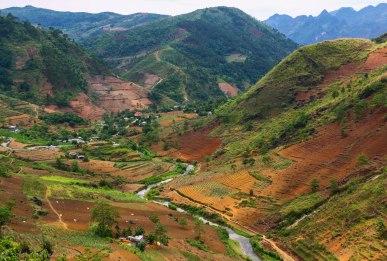 A stunning valley near Yen Minh