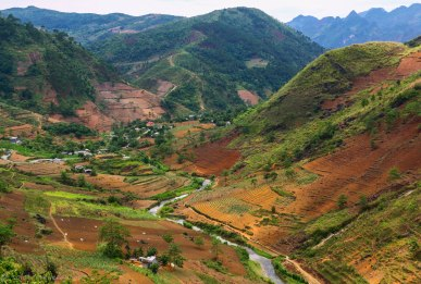 A stunning valley near Yen Minh