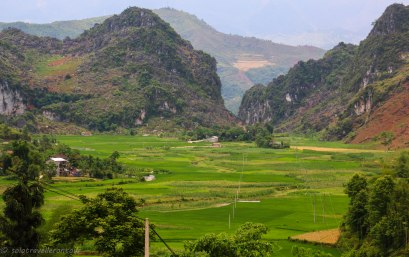 The little pass seperating Yen Minh and the green plateau
