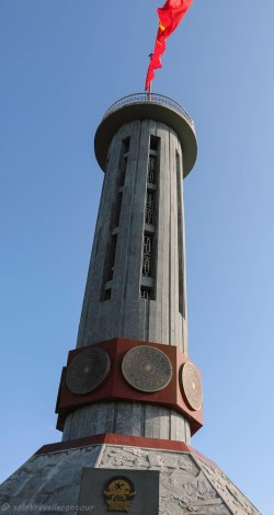 Flag tower at Lung Cu