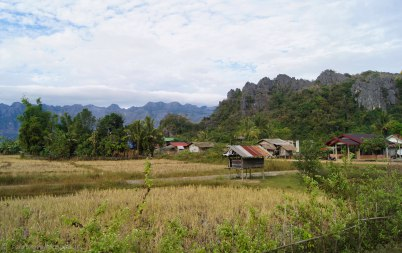 Village between Lak Xao and Kong Lo