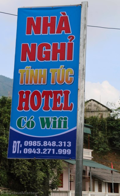 Contact details of the hotel