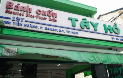 The right palce to try the perfect Banh Cuon