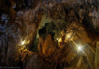 Inside the Tham Nagene cave