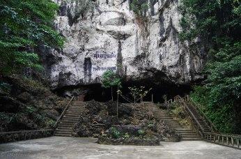 Tham Nagene Cave entrance