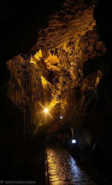 Impressive site inside the cave