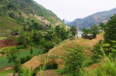 The area near the village