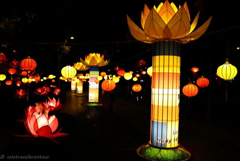 Lantern festival HCMC Style