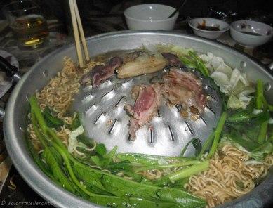 Lao hotpot grill