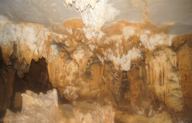 Main chamber of the Fairy pool cave