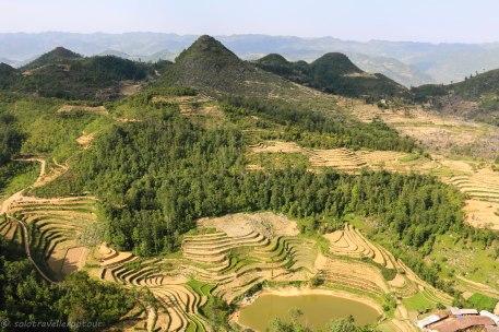 View towards China