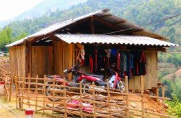 One of the little houses of minority tribes