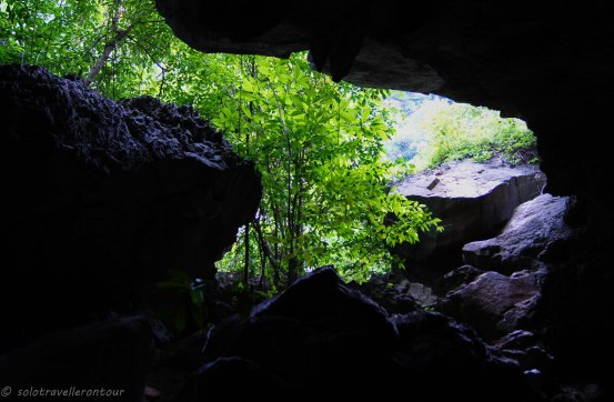 Exit from the vae to the Fairy Pool