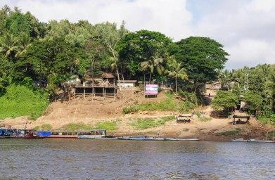 The main boat landing of Xieng Men Village