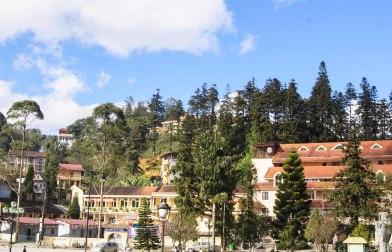 The area near the main square