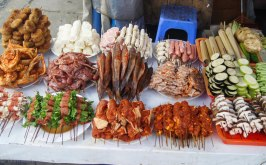 Selection of meat and fish