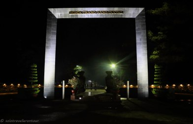Entrance to Hang Duong Cemetery
