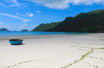 The beautiful and remote An Hai beach