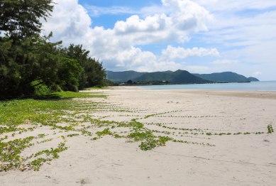 View from An Hai Beach towards Con Son village
