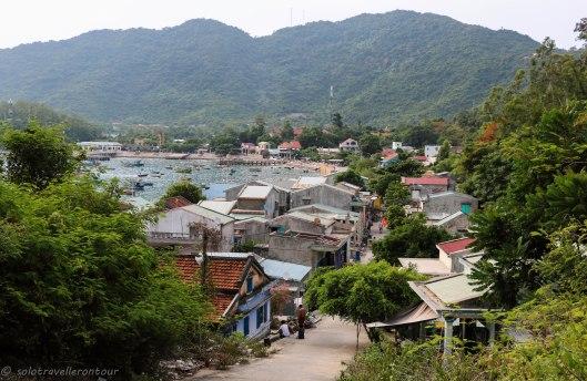 Overlooking Bai Lang village