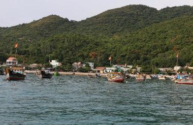 Pier of Bai Lang village