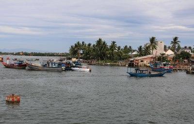 Cua Dai harbor