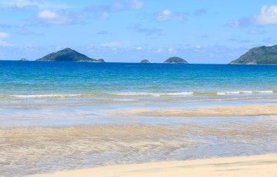 The beautiful Dat Doc Beach