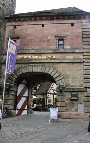 Entrance to Handwerkerhof