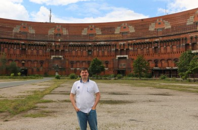 Me inside the Congress Hall