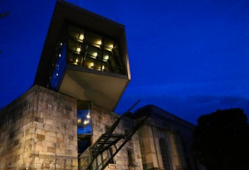 The NS Documentation Centre by night