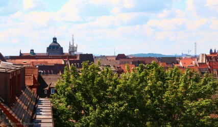 View from the city wall