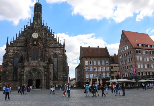 Frauenkriche at the main town square