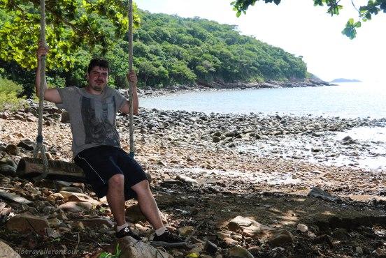 Little swing on Ong Dung Beach