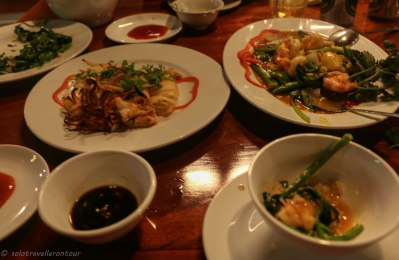 Seafood at Thu Ba