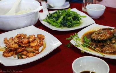 Food at Thu Tam