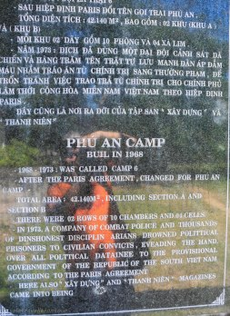 Plaque for Trai Phu An